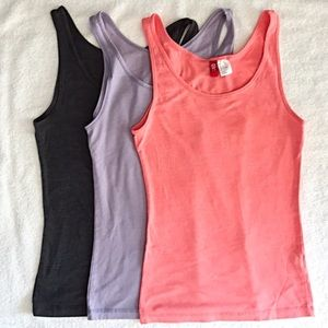 H & M Divided Tank Top Bundle (3) XS